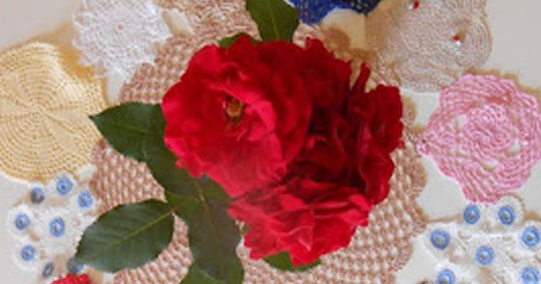Flores sobre a mesa