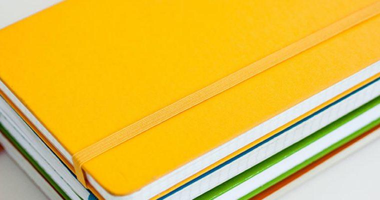 Caderninhos de notas ou Moleskines