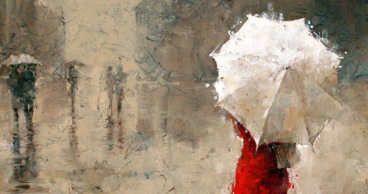 Andre Kokn, pintor da chuva